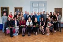 TÜ/Eeden pidulik vastuvõtt Tartu Ülikooli Senati saalis 24. aprill 2018 (FOTO: Andres Tennus/Tartu Ülikool)