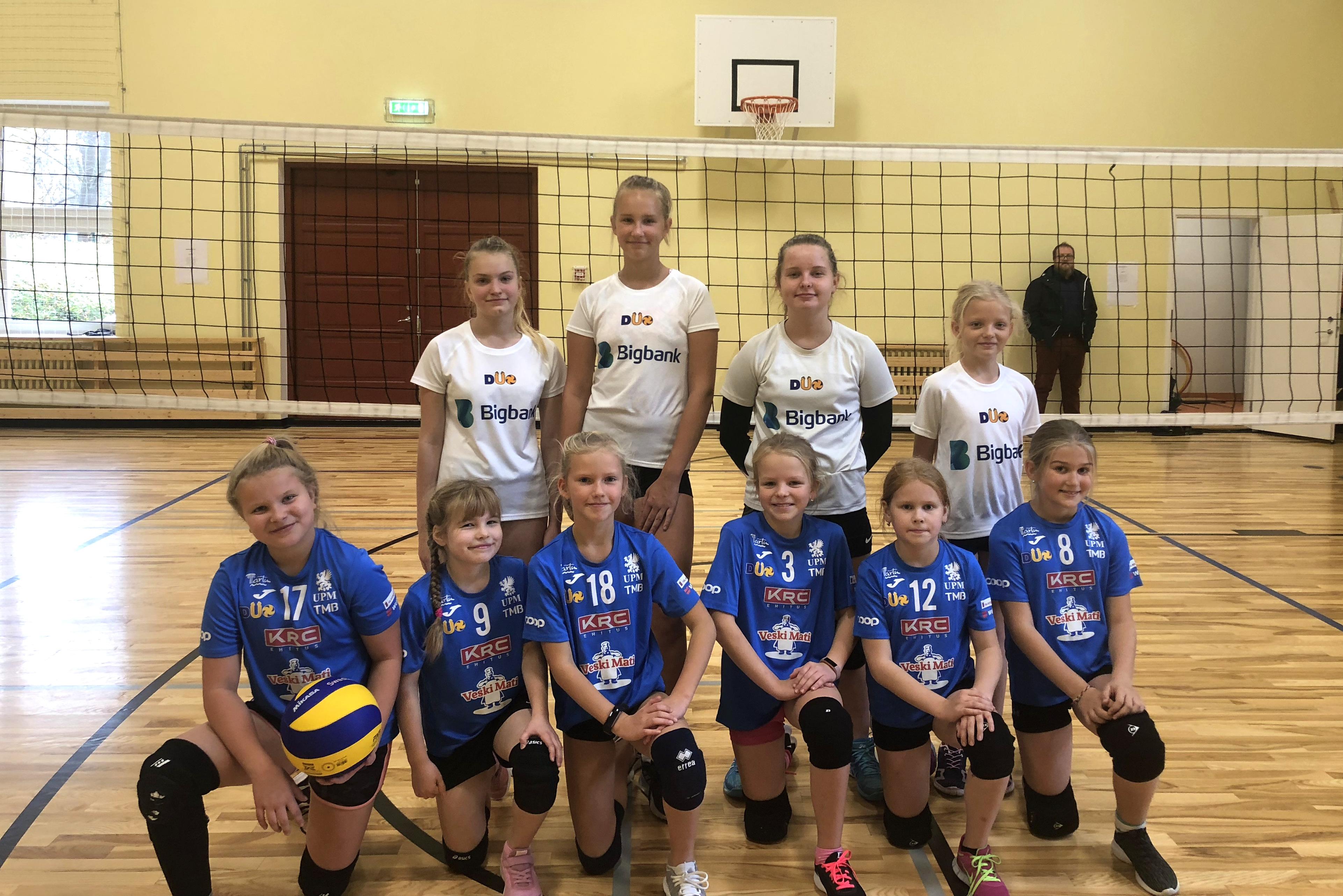 Olerex/Veski Mati U12 ja U14 tüdrukud sisustasid koolivaheaja sportlikult!