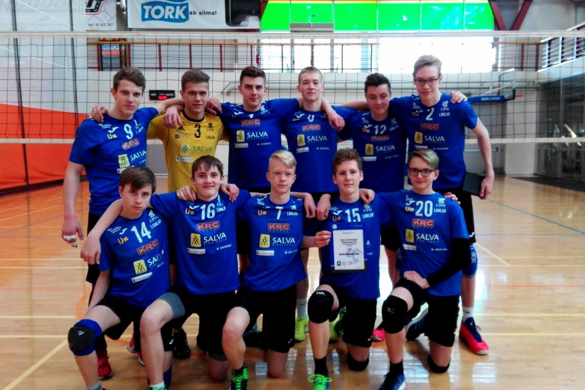 Olerex/Veskimati U18 noormehed alustasid karikavõistluste tsooni edukalt!