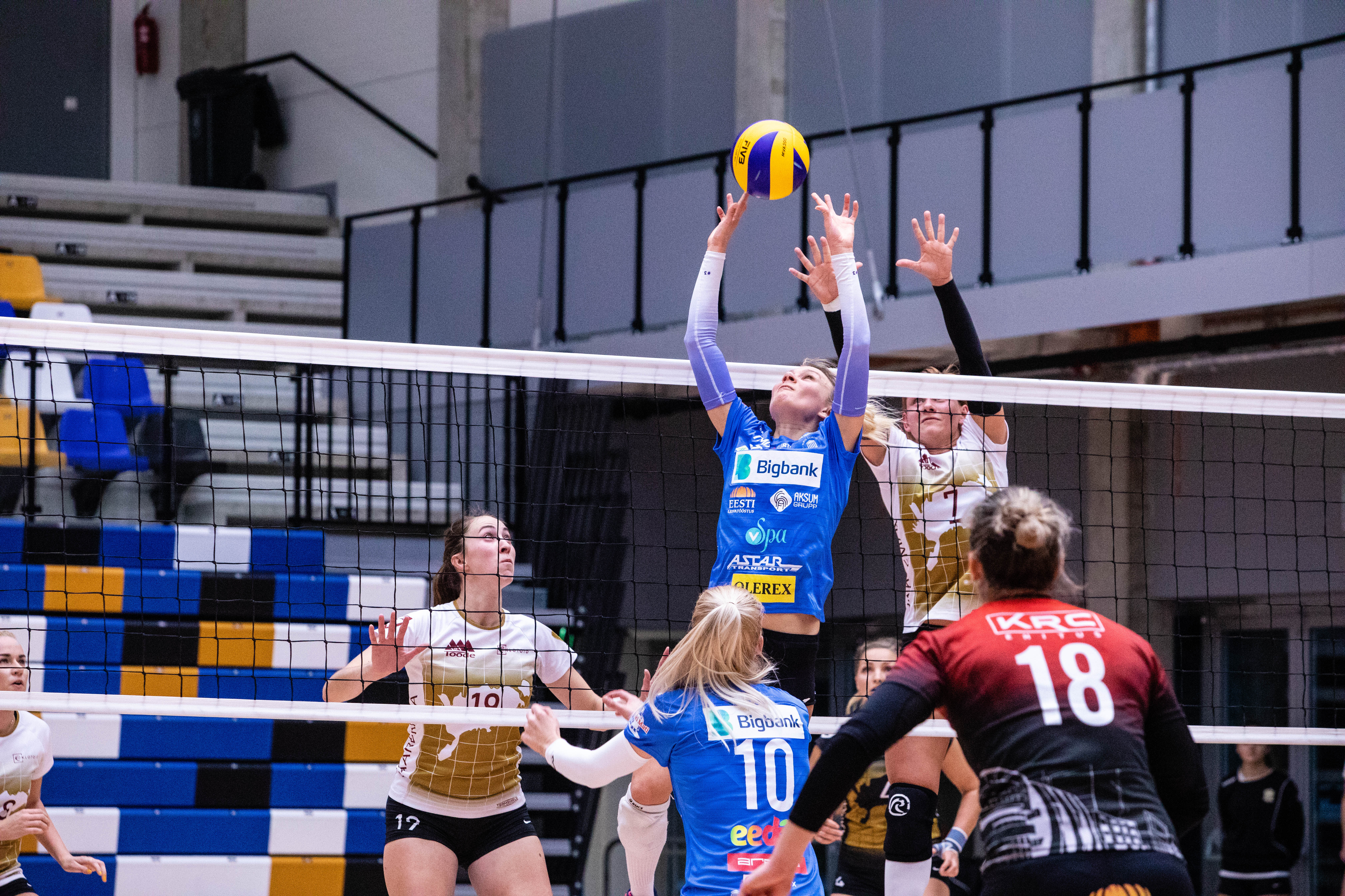 TÜ/Bigbank astus sammu Eesti KV poolfinaali suunas!