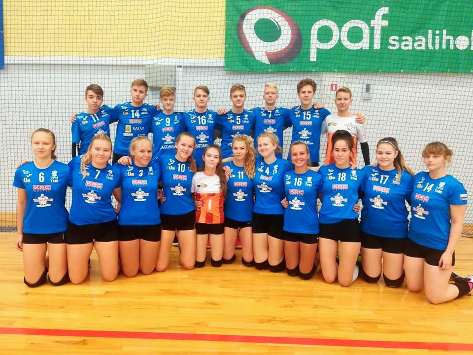 Olerex/Veski Mati U18 võistkondadele edukaks kujunenud Eesti karikavõistlused Kiilis!