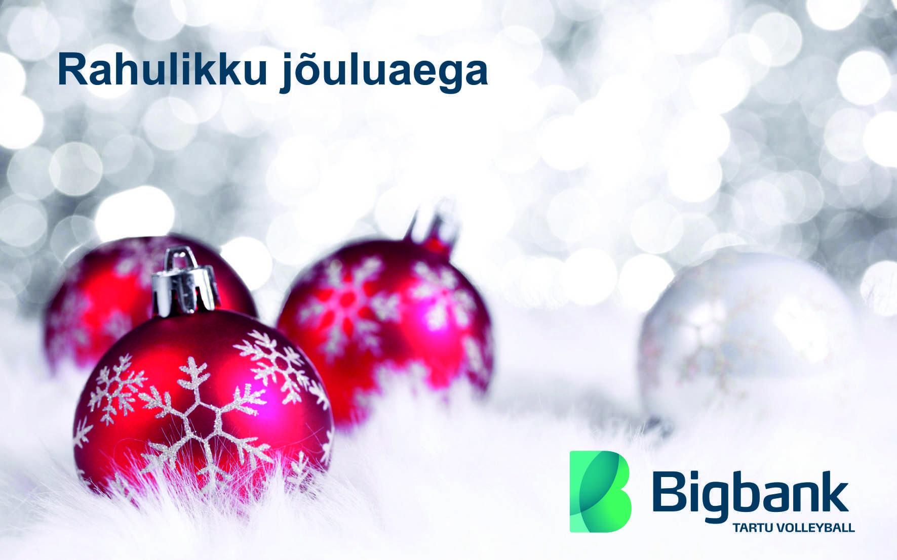 Kaunist jõuluaega ja ägedaid spordielamusi!