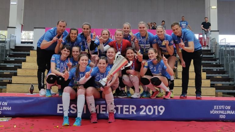 TÜ/Bigbank on Eesti Meister 2019!