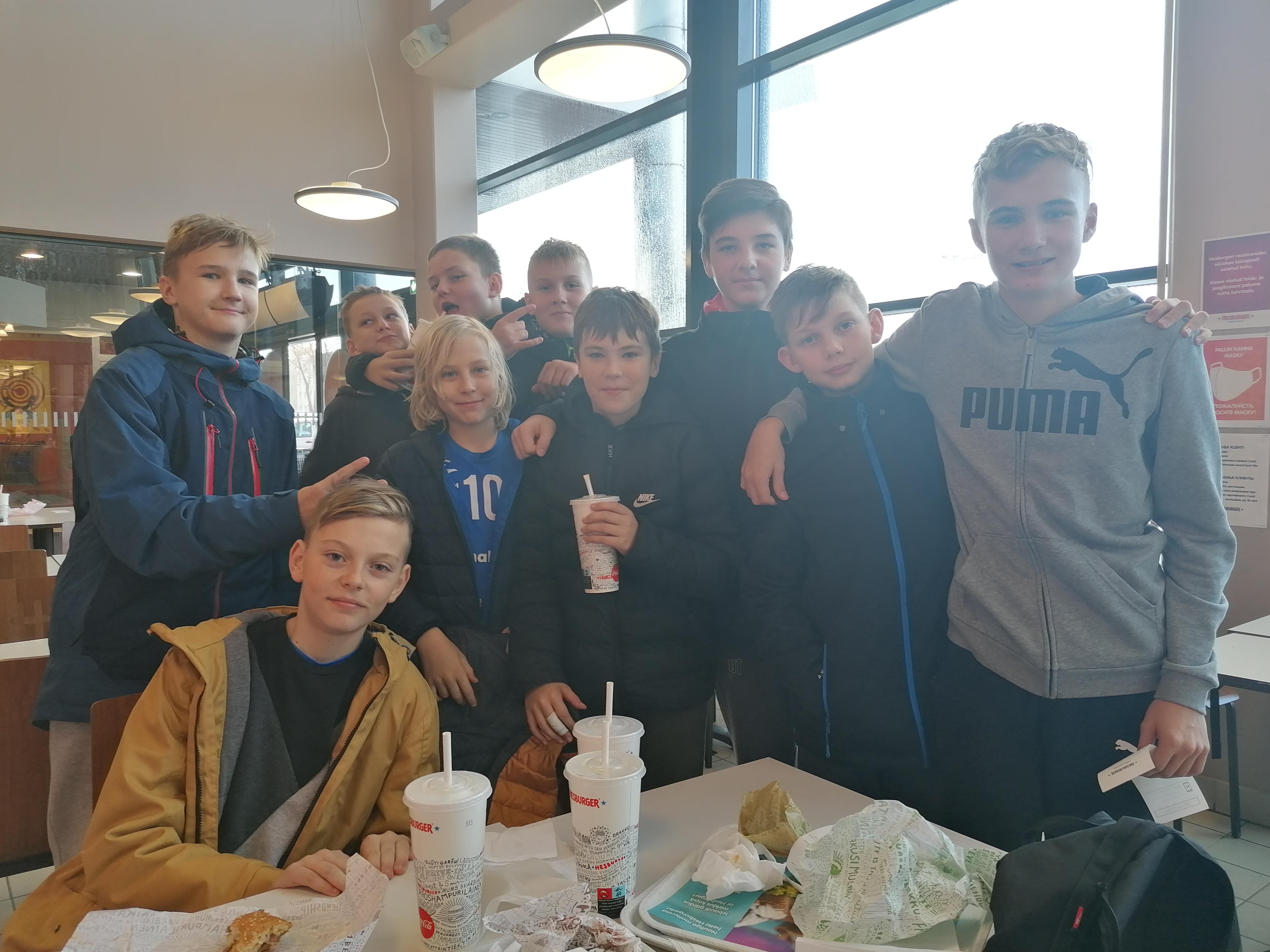 Olerex Tartu U-16 poisid võitlesid vapralt