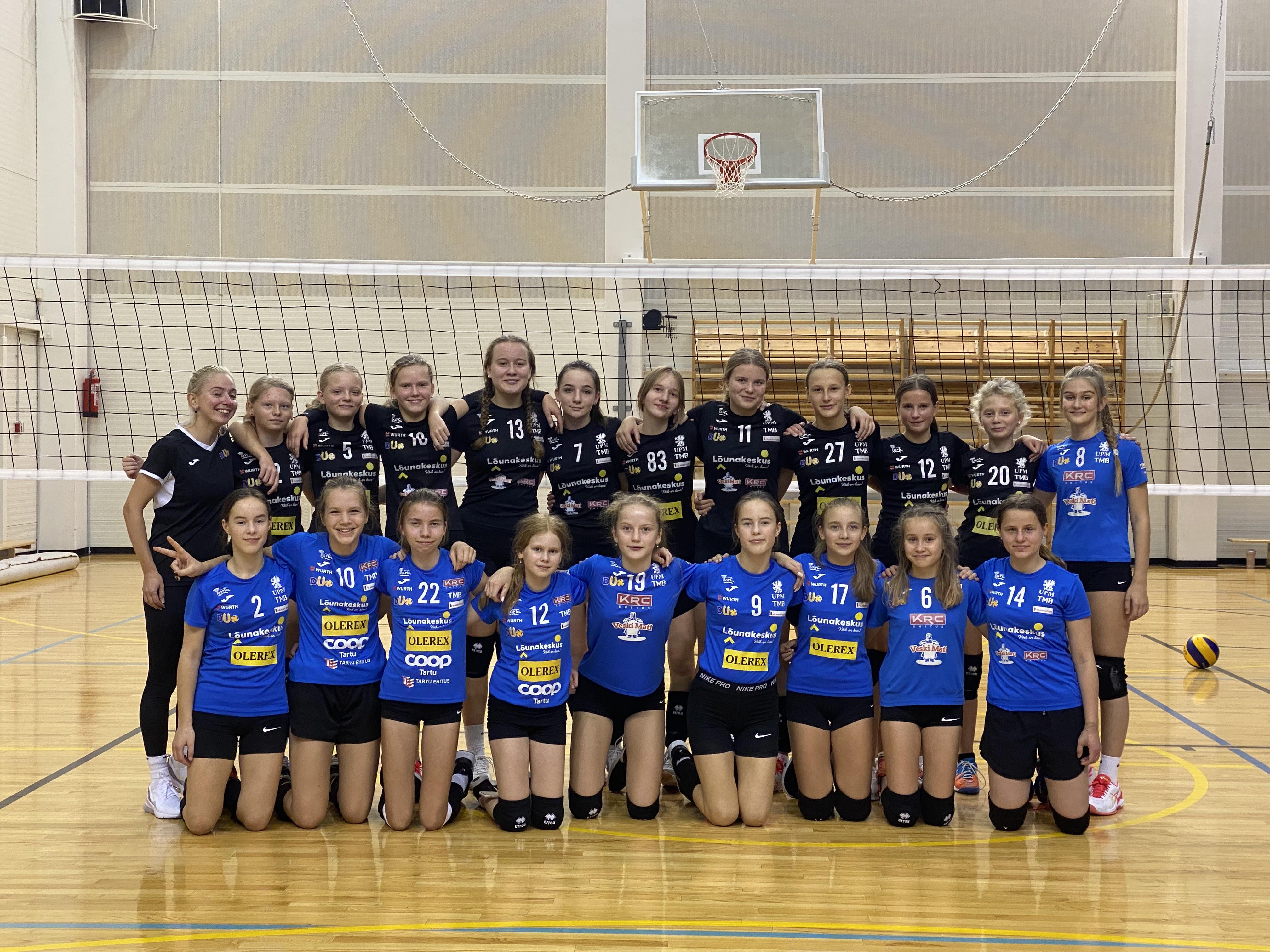 U-16 tüdrukud jõudsid Eesti karikavõistlustel I finaalgruppi