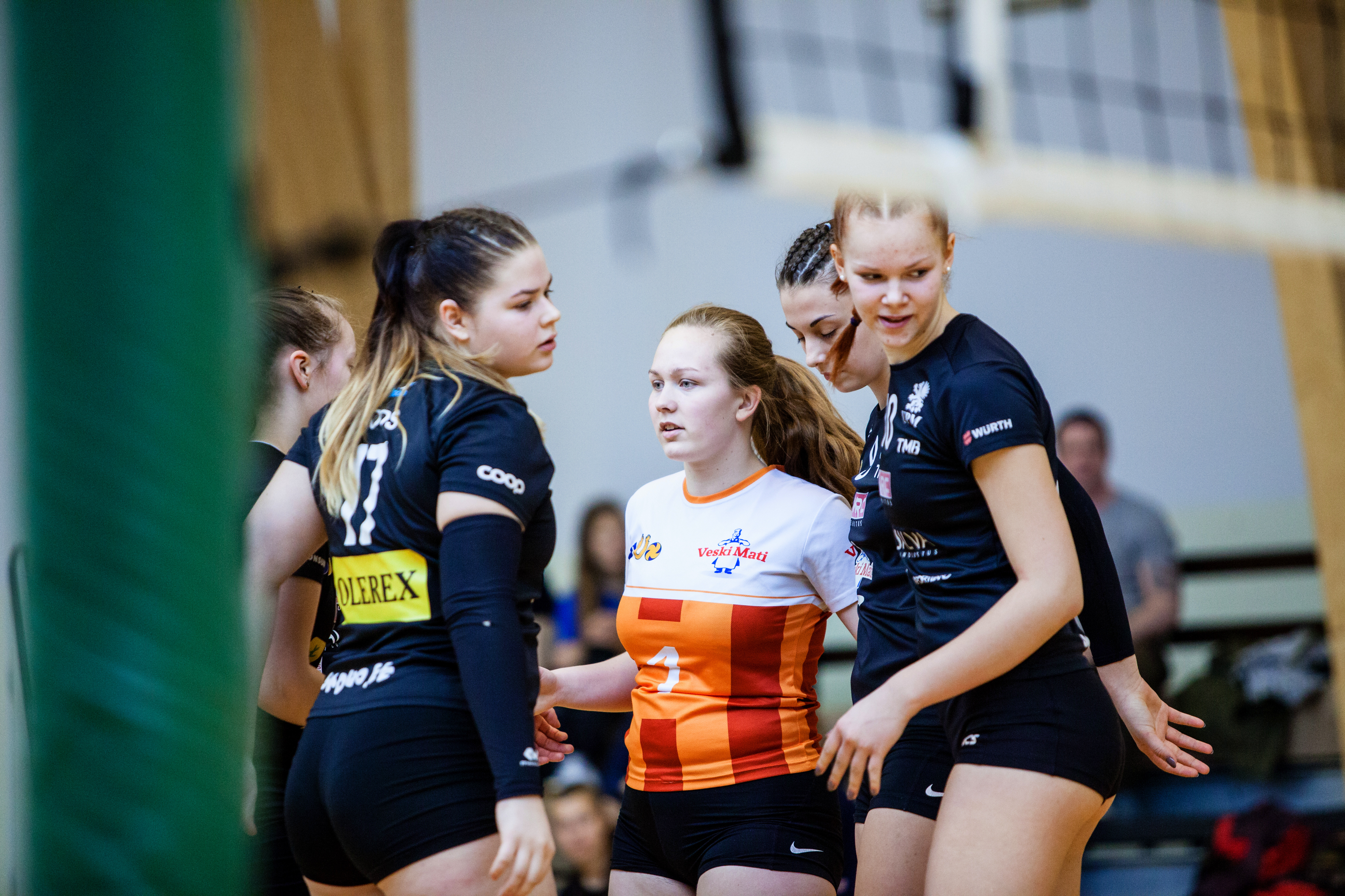 Olerex/Veski Mati Tartu U-18 tüdrukute võistkond lõpetas Eestimeistrivõistluste finaalturniiri 5.kohaga. Pildid!