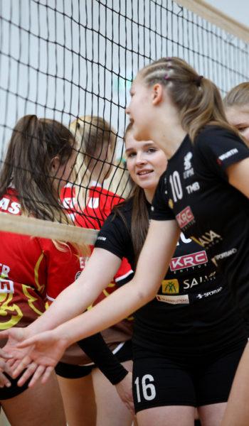 Salva/Kaarsilla Tartu U16 tüdrukud koduturniiril