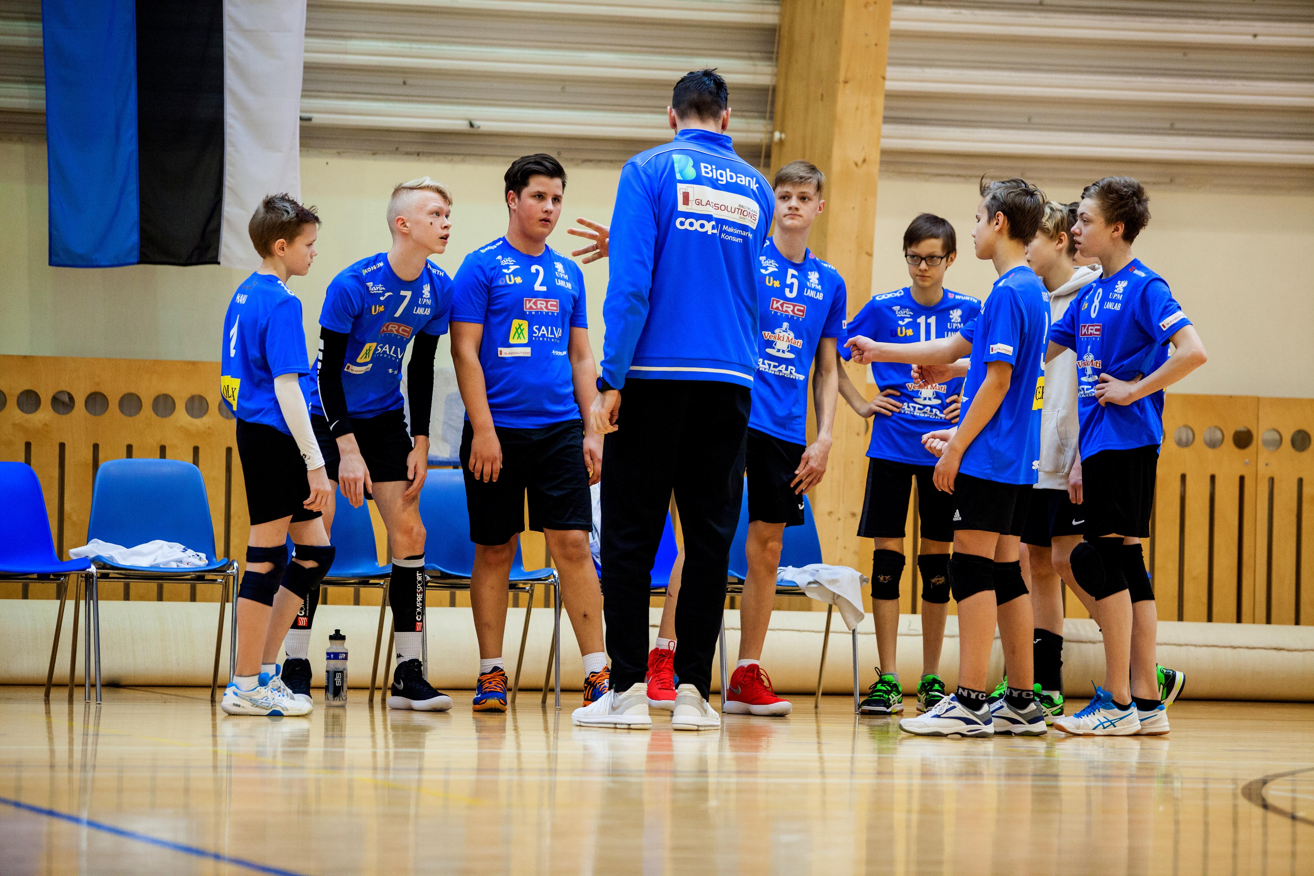 Eesti meistrivõistluste U18 Olerex/Veski Mati noormeste võistkond pidi leppima kuuenda kohaga!