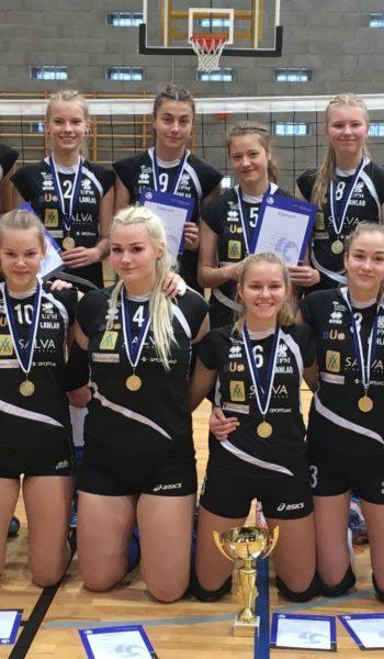 Salva/Kaarsilla Tartu U18 neiud - Eesti Karikavõitjad